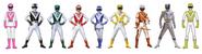 Nine Animal Brigade Rangers