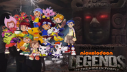 Pooh's Adventures of Legends of the Hidden Temple Digimon character poster