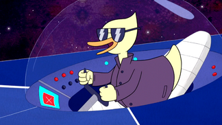 S6E24.404 Andy the Teenage Duck