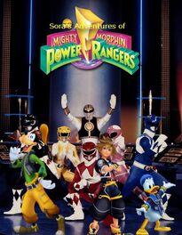 Sora's Adventures of Mighty Morphin Power Rangers Season 3 poster