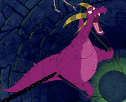 Ludmilla in her dragon form