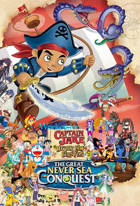 Weekenders, Captain Jake and the Never Land Pirates- The Great Never Sea Conquest