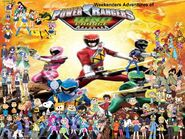 Weekenders Adventures of Power Rangers Dino Charge