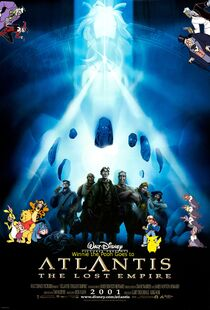 Winnie the Pooh Goes to Atlantis the Lost Empire poster