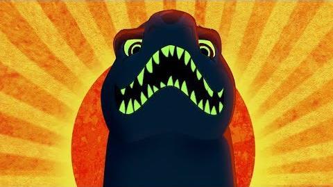 Lion Guard Big Bad Kenge song & Scar's idea The Bite of Kenge HD Clip