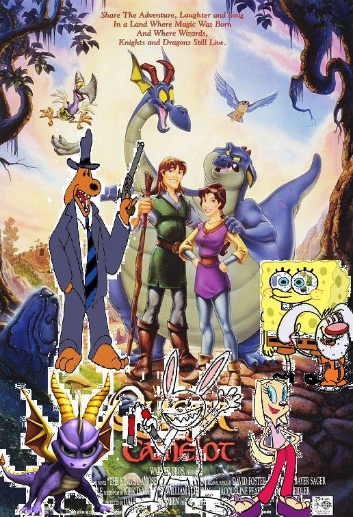 Spongebob And Friends Go On The Quest For Camelot Pooh S