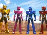 The Mini Force Rangers