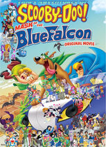 Tino's Adventures of Scooby-Doo! Mask of the Blue Falcon Poster (Redo)