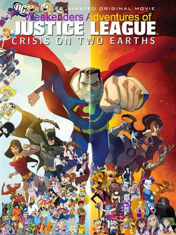 File:Weekenders Adventures of Justice League - Crisis on Two Earths.jpg