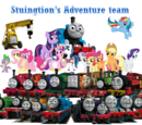 Thomas and Twilight Sparkle's Adventures Team