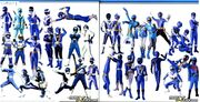 All Blue Rangers
