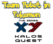 Team Robot In Pokemon XY The Series Logo 2