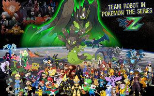 Team Robot in Pokemon XY&Z Poster (Remake)