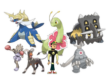 Duncan and his Pokemon