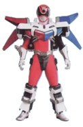 S.P.D. Red Ranger Battlizer (Sonic Mode)