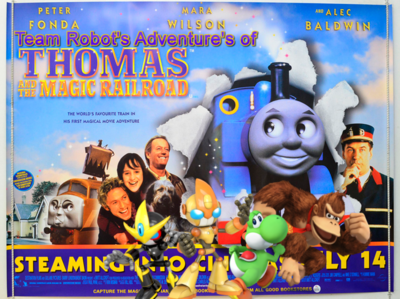 Team Robot's Adventure's of Thomas & The Magic Railroad Poster