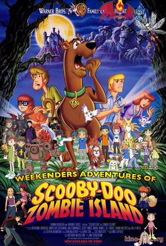File:Weekenders Adventures of Scooby-Doo on Zombie Island (Remake 3) Poster.jpg