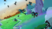 Queen Chrysalis' first defeat