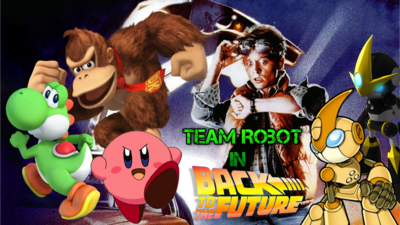 Team Robot In Back To The Future Poster 1