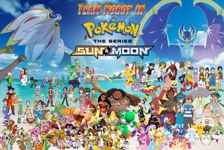 Team Robot in Pokemon Sun & Moon Poster