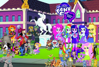 Tino's Adventures of My Little Pony- Equestria Girls