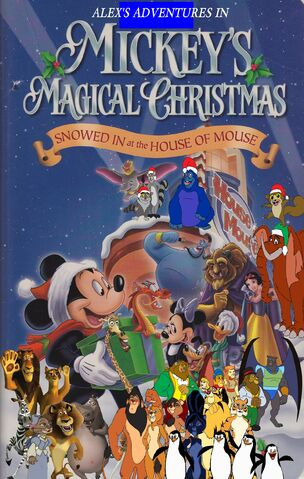 File:Alex's Adventures of Mickey's Magical Christmas Snowed in at the House of Mouse poster.jpg