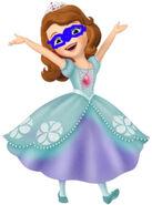 Sofia superhero outfit new
