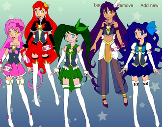 Mystical precure by bluelover2001-d8nrs2v