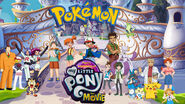 Pokémon in Pooh's Adventures of My Little Pony the Movie poster