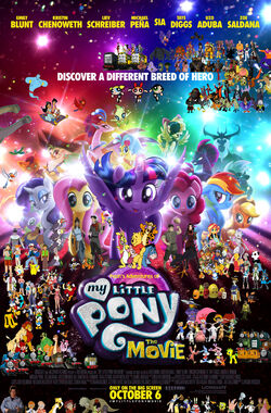 Pooh's Adventures of My Little Pony the Movie (2017) poster