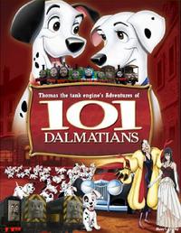 Thomas' Adventures of 101 Dalmatians poster V2