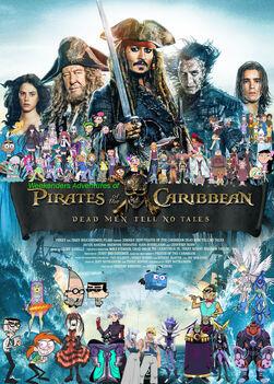 Weekenders Adventures of Pirates of the Caribbean 5 (redo 2)