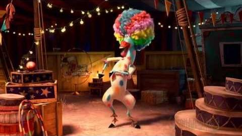 Afro Circus ( I Like To Move It ) - (Full Song) Madagascar 3 Europe's Most Wanted HD