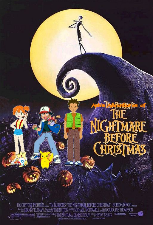 ashs adventures of the nightmare before christmas posterjpg - The Nightmare Before Christmas Poster