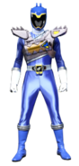 Dino Charge Blue Ranger in Dino Drive