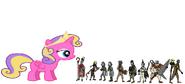 Princess Skyla, 1, 2, 3 and 4, 5, 6, 7, 8 and 9
