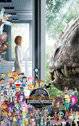 Weekenders visits Jurassic World-2