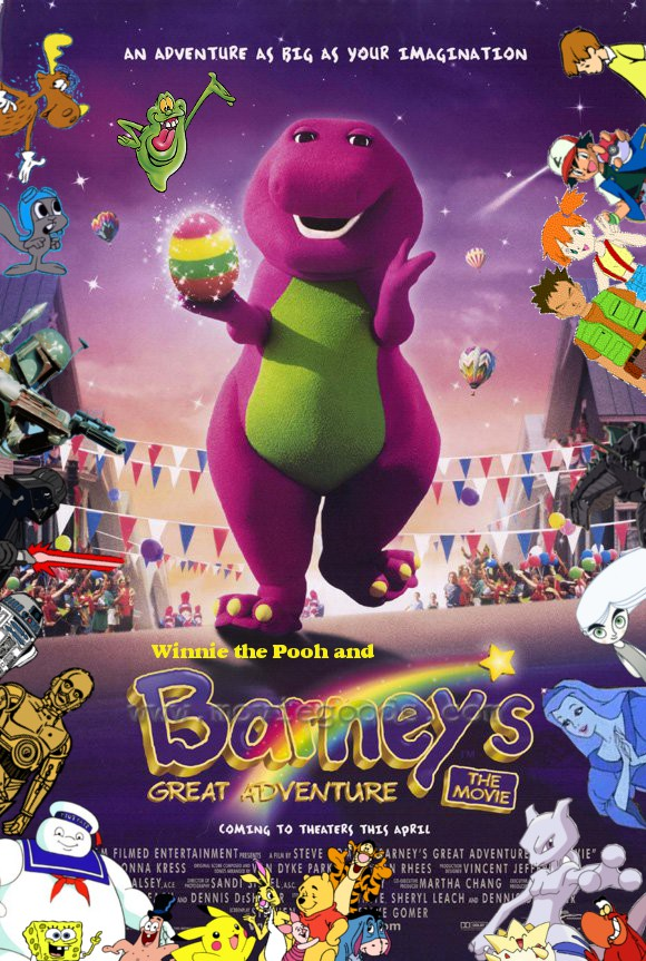 Winnie the Pooh and Barney's Great Adventure Poster