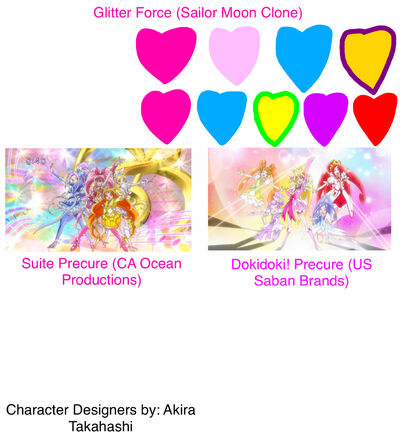 Glitter Force Sailor Moon Clone