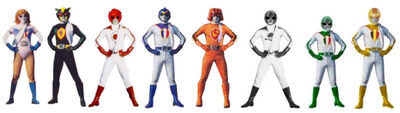 Six battle rangers