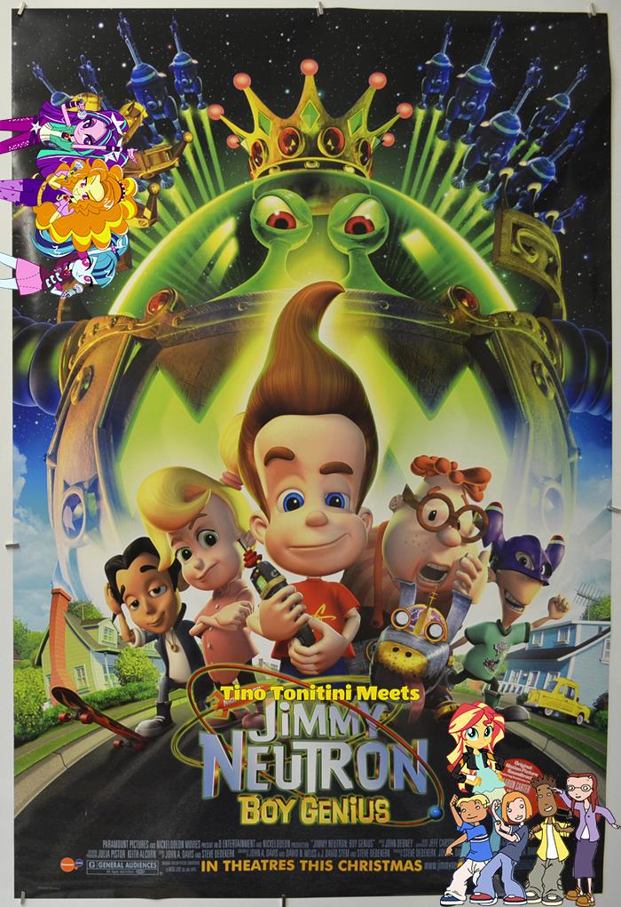 Tino Tonitini Meets Jimmy Neutron: Boy Genius   Pooh\'s Adventures ...