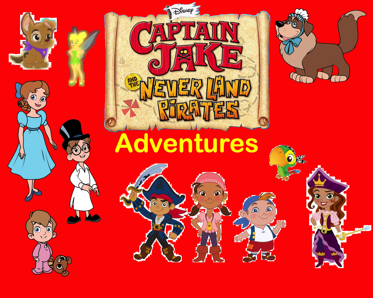 Captain Jake and the Never Land Pirates Adventures Series | Pooh's