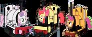MLP Cutie Mark Crusaders as Thomas characters