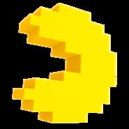 Pac man pixel render by nibroc rock-dc3hvyx