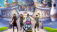 The Legend of Korra in Winnie the Pooh in Pooh's Adventures of My Little Pony the Movie poster