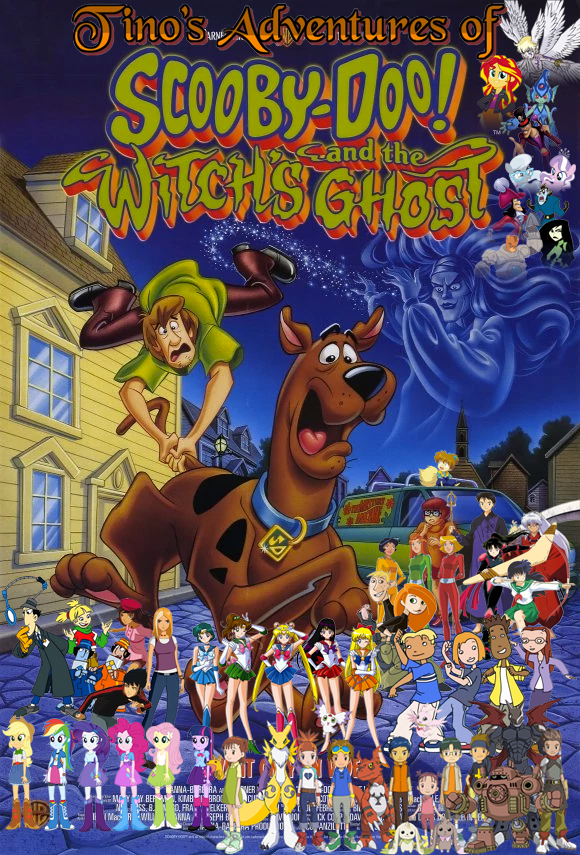 tinos adventures of scoobydoo and the witchs ghost