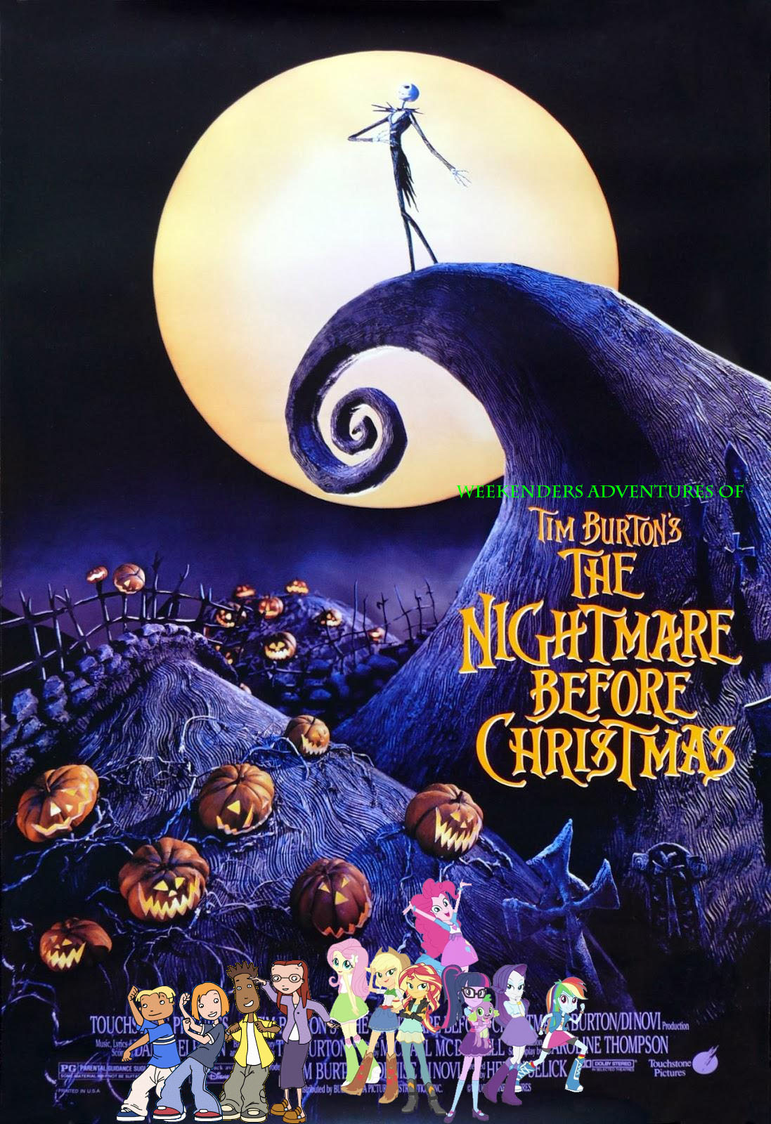 Tino\'s Adventures of The Nightmare Before Christmas | Pooh\'s ...