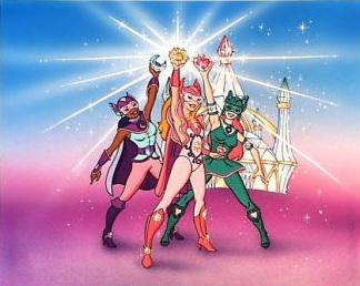The three jewel riders