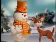 Rudolph with Frosty the Snowman