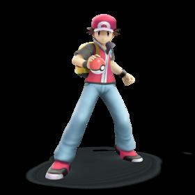 Pokemon trainer smash bros trophy render by nibroc rock-d9u0xrd